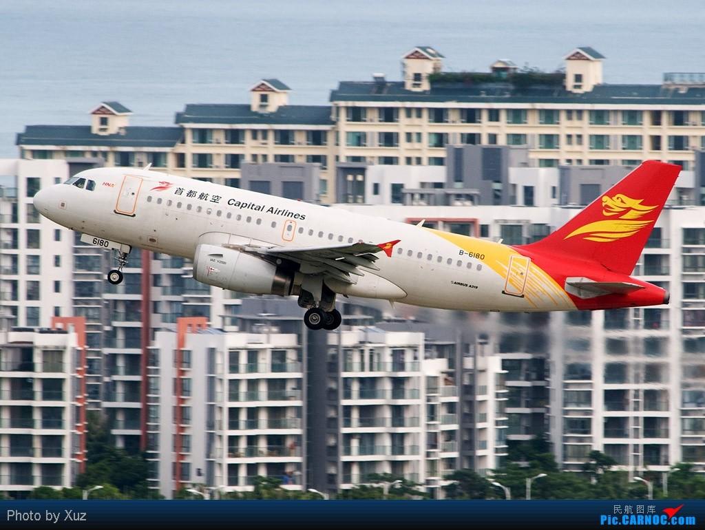 Re:[原创]近来杂图一堆,有东航云南公司等等 AIRBUS A319-100 B-6180 中国三亚凤凰机场