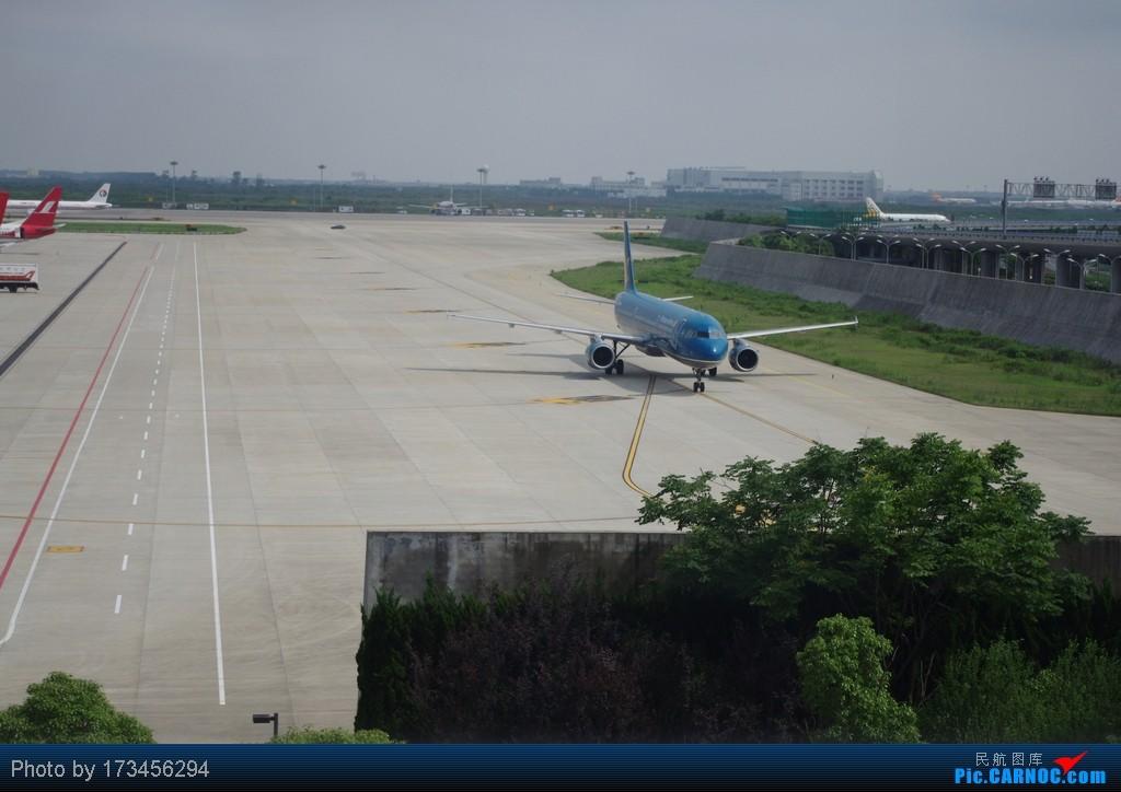 Re:[原创]HRB-HKG VIA PVG AIRBUS A321 VN-A365 中国上海浦东机场