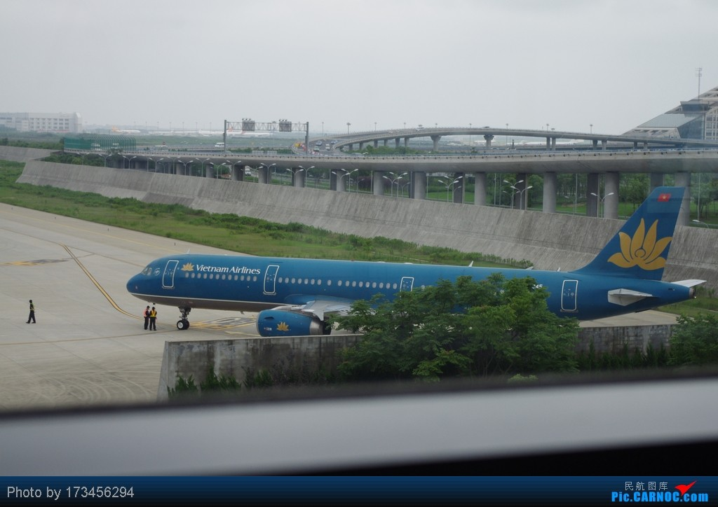 Re:[原创]HRB-HKG VIA PVG AIRBUS A321 VN-A345 中国上海浦东机场