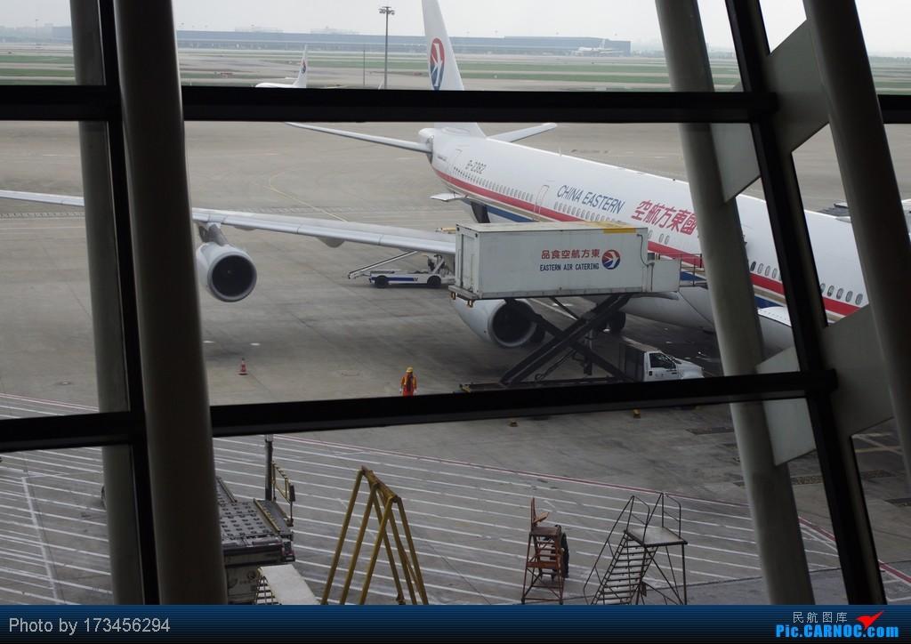 Re:[原创]HRB-HKG VIA PVG AIRBUS A340-300 B-2382 中国上海浦东机场