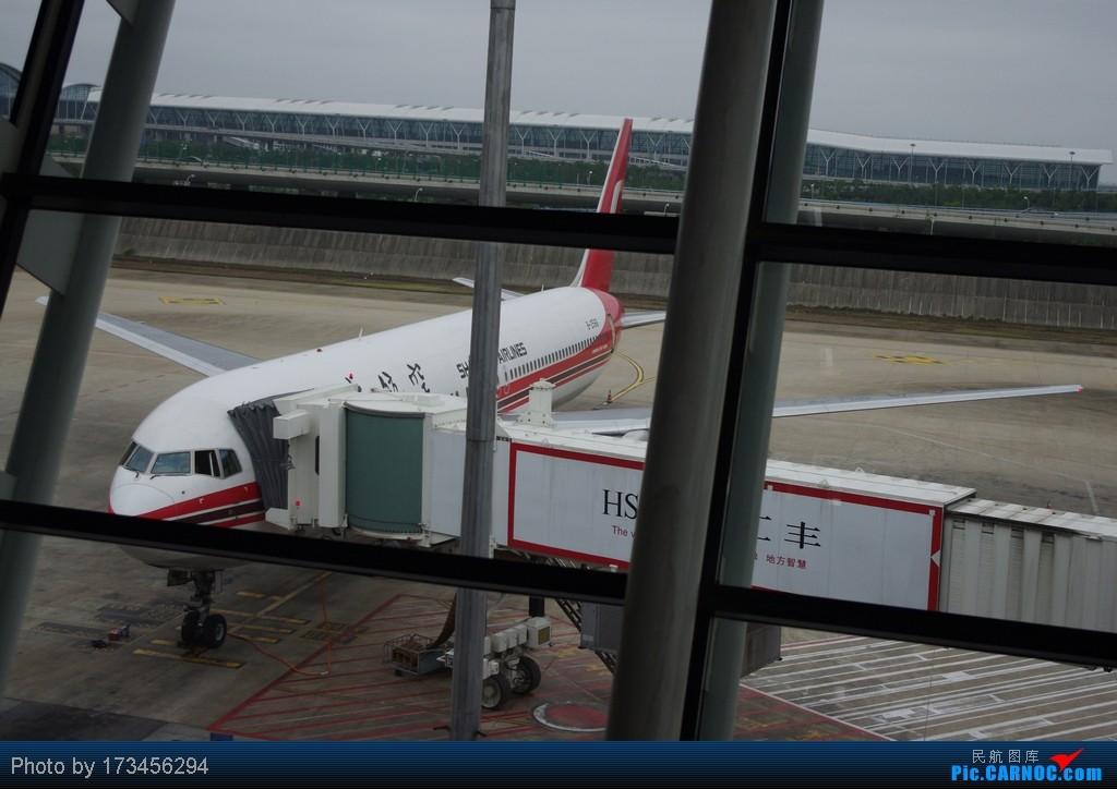 Re:[原创]HRB-HKG VIA PVG BOEING 767-300 B-2566 中国上海浦东机场
