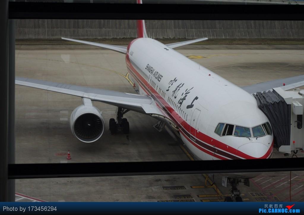 Re:HRB-HKG VIA PVG BOEING 767-300 B-2566 中国上海浦东机场