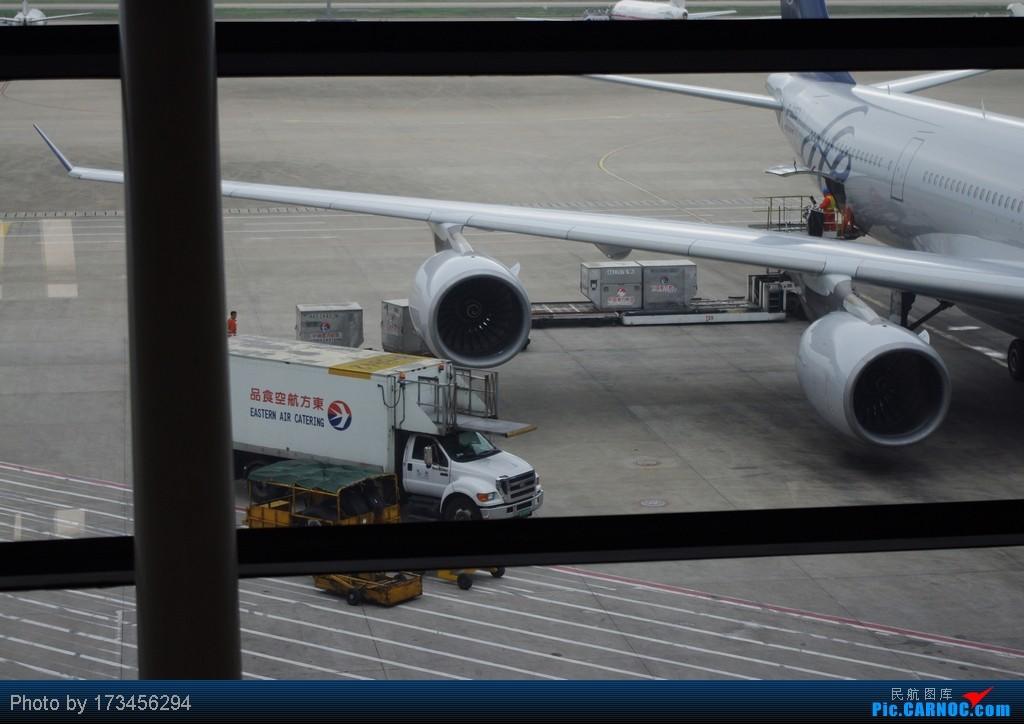 Re:[原创]HRB-HKG VIA PVG AIRBUS A340-600 B-6053 中国上海浦东机场