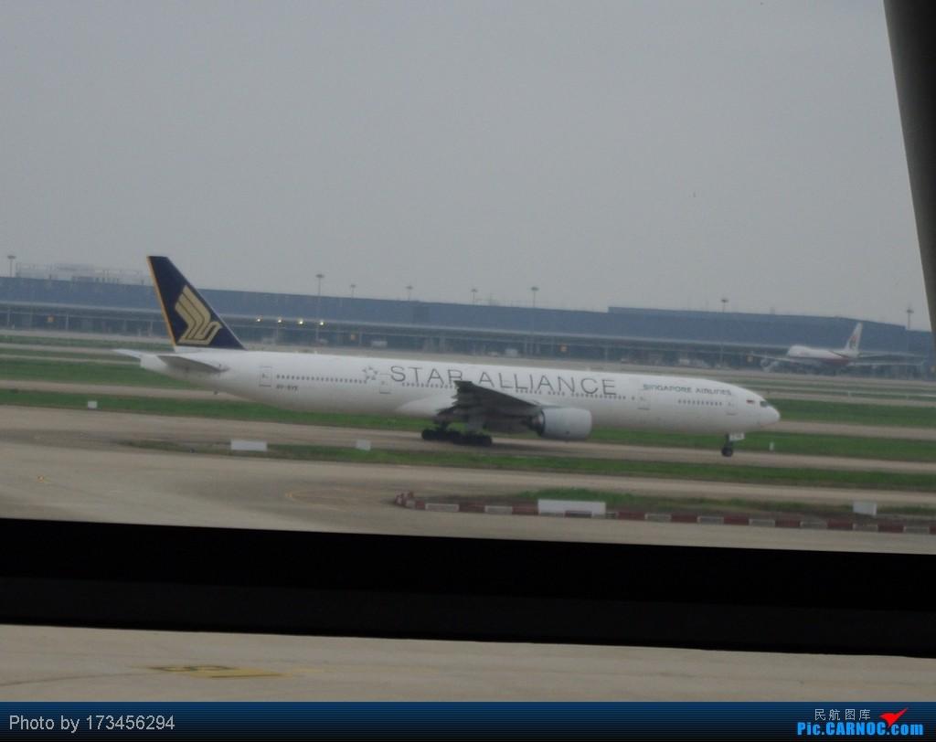Re:[原创]HRB-HKG VIA PVG BOEING 777  中国上海浦东机场