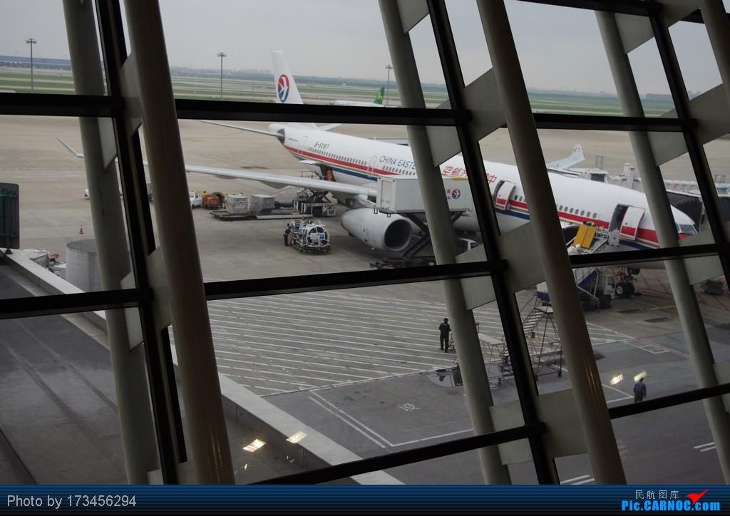 Re:[原创]HRB-HKG VIA PVG AIRBUS A330-300 B-6097 中国上海浦东机场