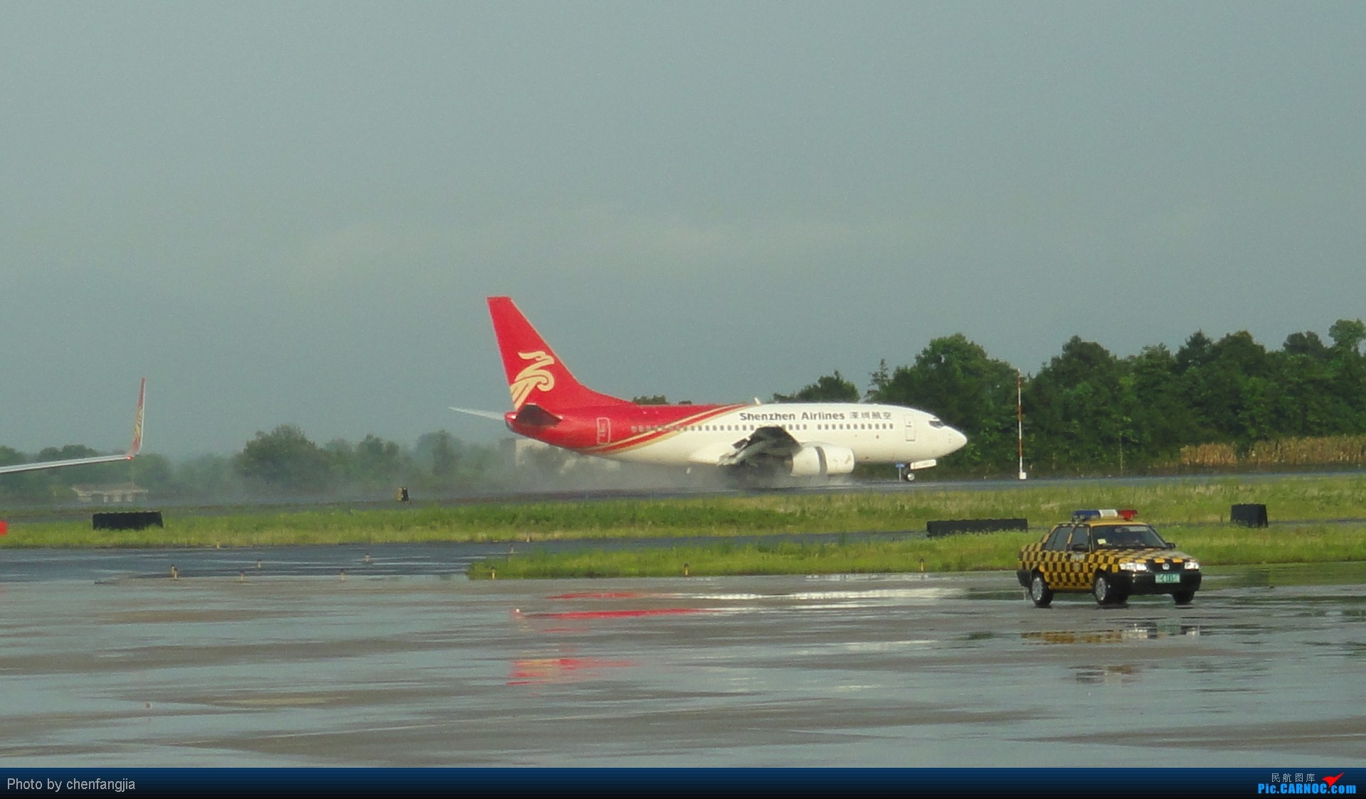 Re:[原创]新手发帖,多多支持!CSX-KMG  CZ3467  ---------标题要长--- BOEING 737-300  中国长沙黄花机场