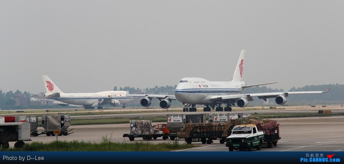 [原创]【广州,你好】-单反第一帖,换个阶级了,国航精彩CAN,绝对精彩,双747,双奇特彩绘 BOEING 747-400 B-2467 中国广州白云机场