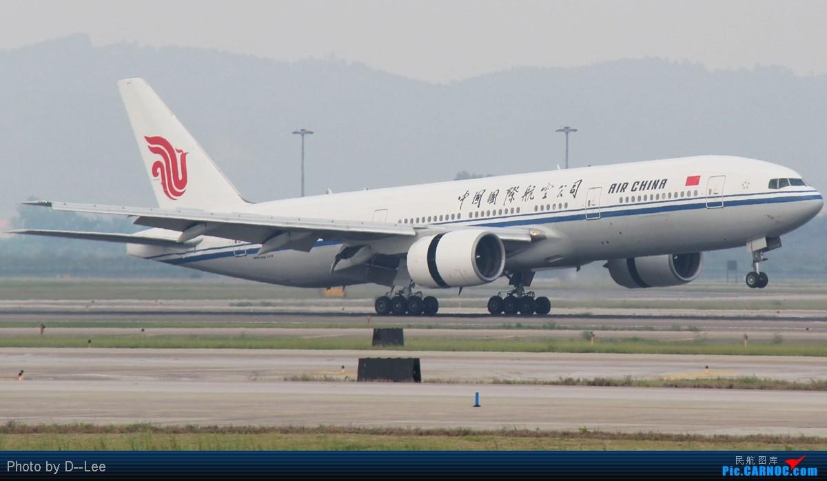 Re:[原创]【广州,你好】-单反第一帖,换个阶级了,国航精彩CAN,绝对精彩,双747,双奇特彩绘 BOEING 777-200 B-2067 中国广州白云机场