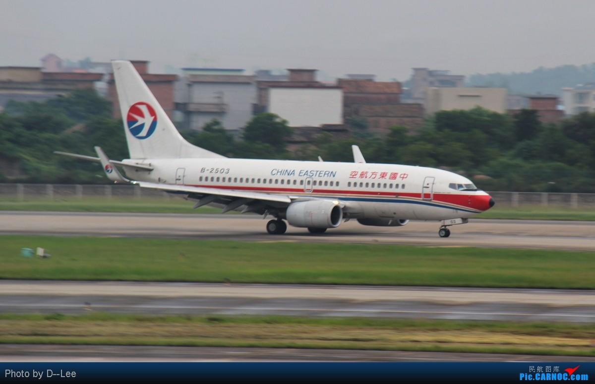 Re:[原创]【广州,你好】-精彩夜景,精彩延误,精彩拍机,CAN-DYG之行去程 BOEING 737-700 B-2503 中国广州白云机场