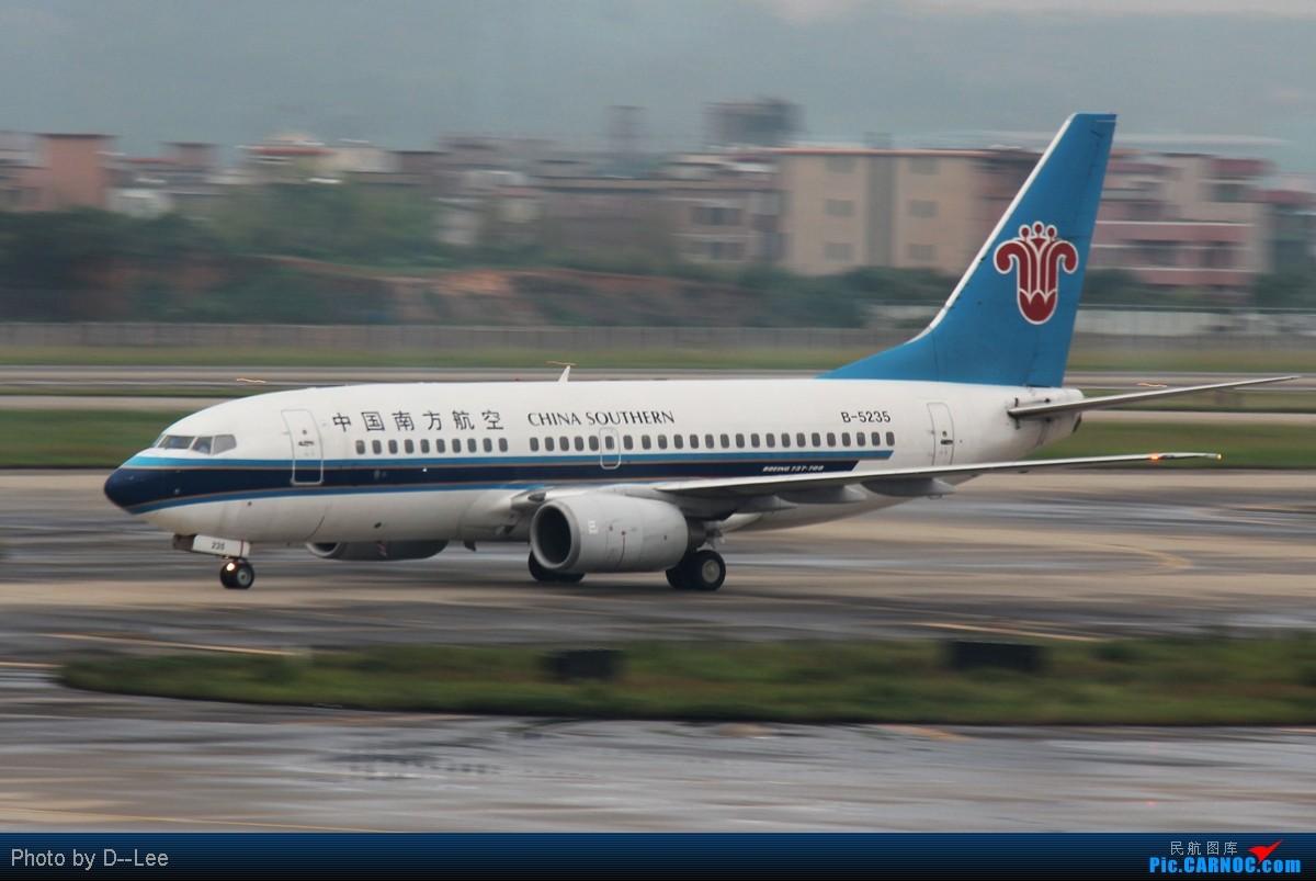Re:[原创]【广州,你好】-精彩夜景,精彩延误,精彩拍机,CAN-DYG之行去程 BOEING 737-700 B-5235 中国广州白云机场