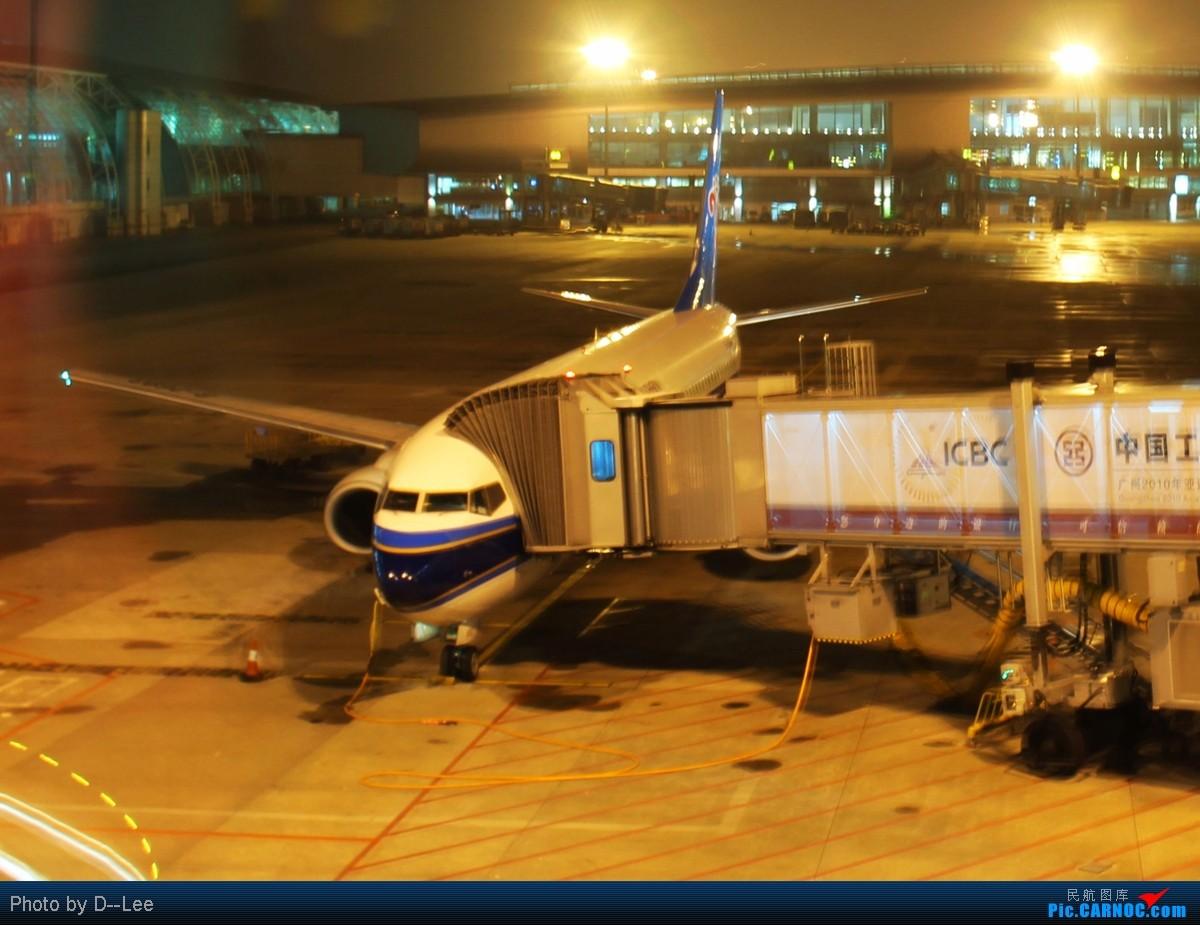 Re:[原创]【广州,你好】-精彩夜景,精彩延误,精彩拍机,CAN-DYG之行去程 BOEING 737-800 B-5550 中国广州白云机场