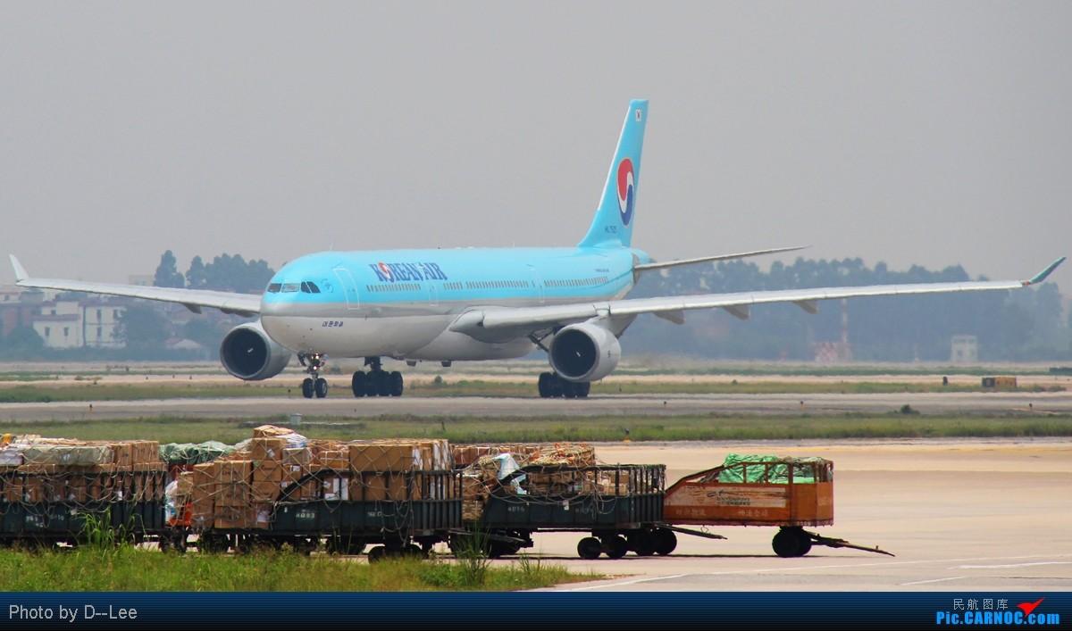 Re:[原创]【广州,你好】-继两韩744,两韩772后,今天上两韩333,各位大侠进来指导下如何修图吧 AIRBUS A330-300 HL7525 中国广州白云机场