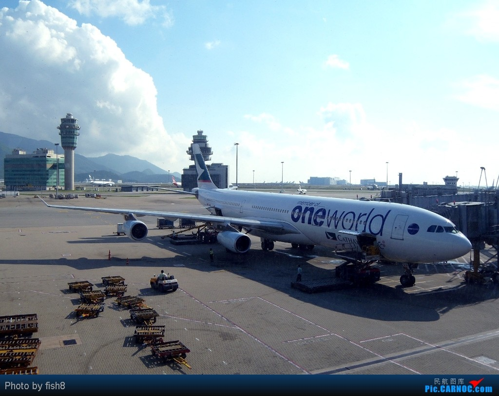 [原创]【长春飞友会】fish8(19):Stranger under my skin 初乘CX PEK-HKG-KUL往返 AIRBUS A340-300 B-HXG 中国香港赤鱲角国际机场