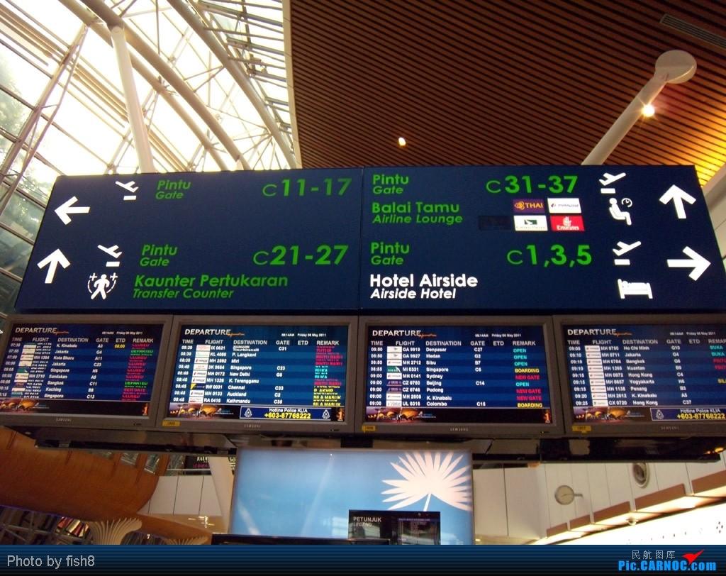 Re:[原创]fish8(19):Stranger under my shin 初乘CX PEK-HKG-KUL往返    马来西亚吉隆坡机场