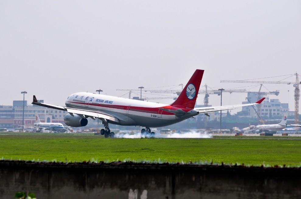Re:[原创]【广州,你好】-继两韩744,两韩772后,今天上两韩333,各位大侠进来指导下如何修图吧 A330-200 B-6518 成都双流国际机场