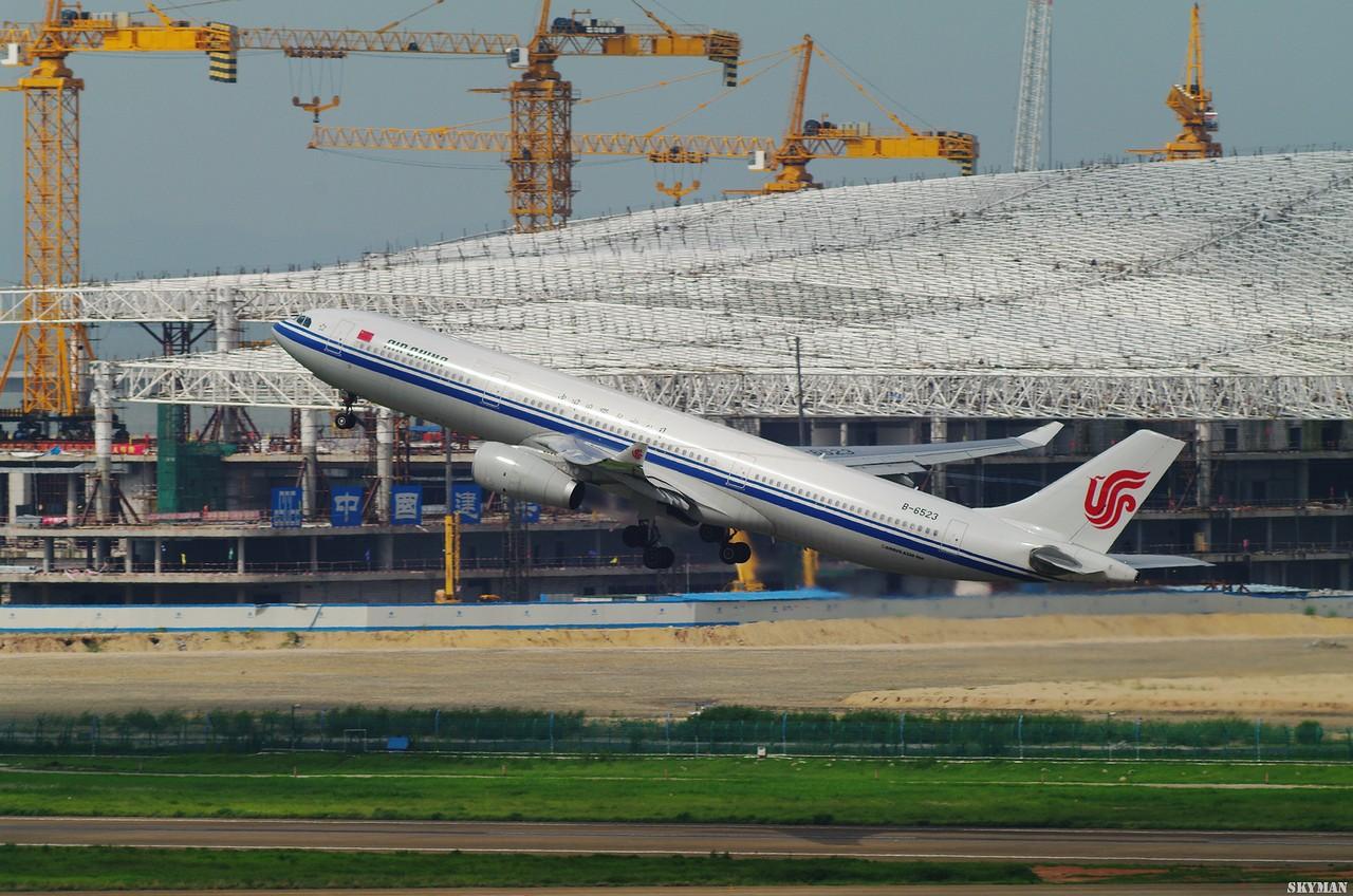 Re:[原创]【BLDDQ】在深圳打机队的香闺阁楼上,无敌兔勾结小白和2X增倍联合削我,边削边叫嚣来这里只要DJ不要BA,偶身上只有一张CF卡,于是被佳能了 AIRBUS A330-300 B-6523 中国深圳宝安机场