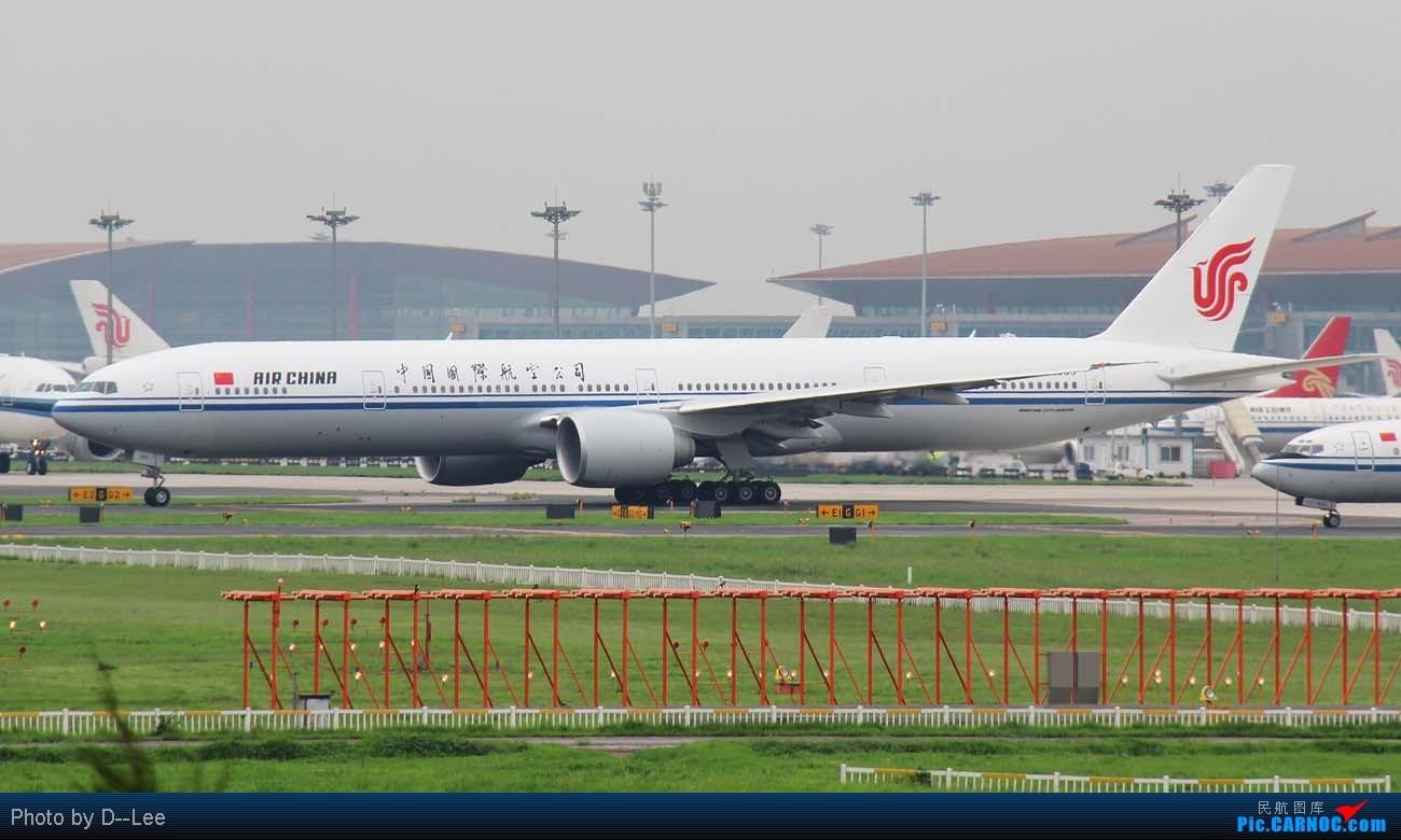 【广州,你好】-CAN飞友流窜帝都作业国航77W首航直播+三大航330一堆+KA大龙舟,天气阴转晴 BOEING 777-300ER B-2085 中国北京首都机场