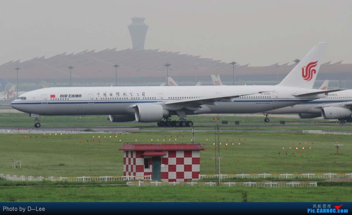 Re:[原创]【广州,你好】-CAN飞友流窜帝都作业国航77W首航直播+三大航330一堆+KA大龙舟,天气阴转晴 BOEING 777-300ER B-2085 中国北京首都机场