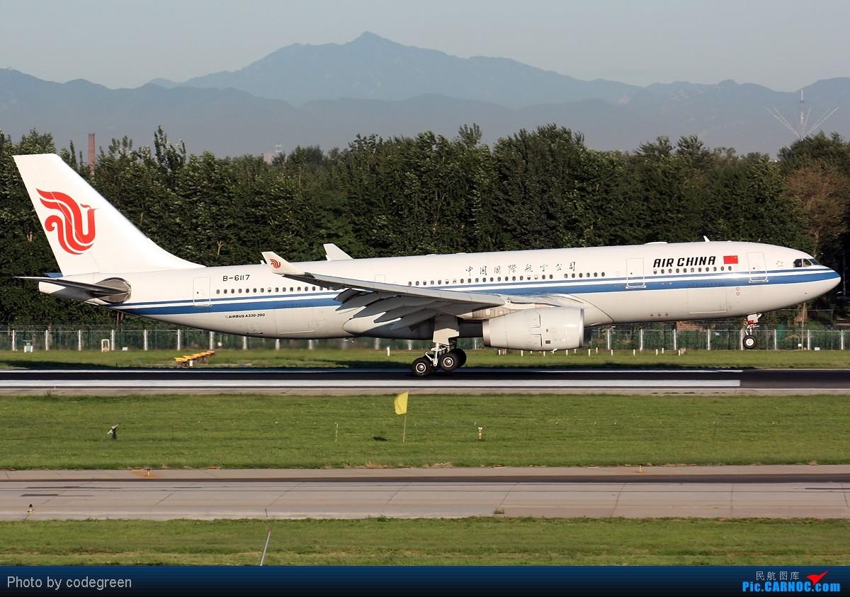 Re:[原创]西跑上的330们 -- 5个小时之内在PEK 36L跑道上的330 AIRBUS A330-200 B-6117 中国北京首都机场