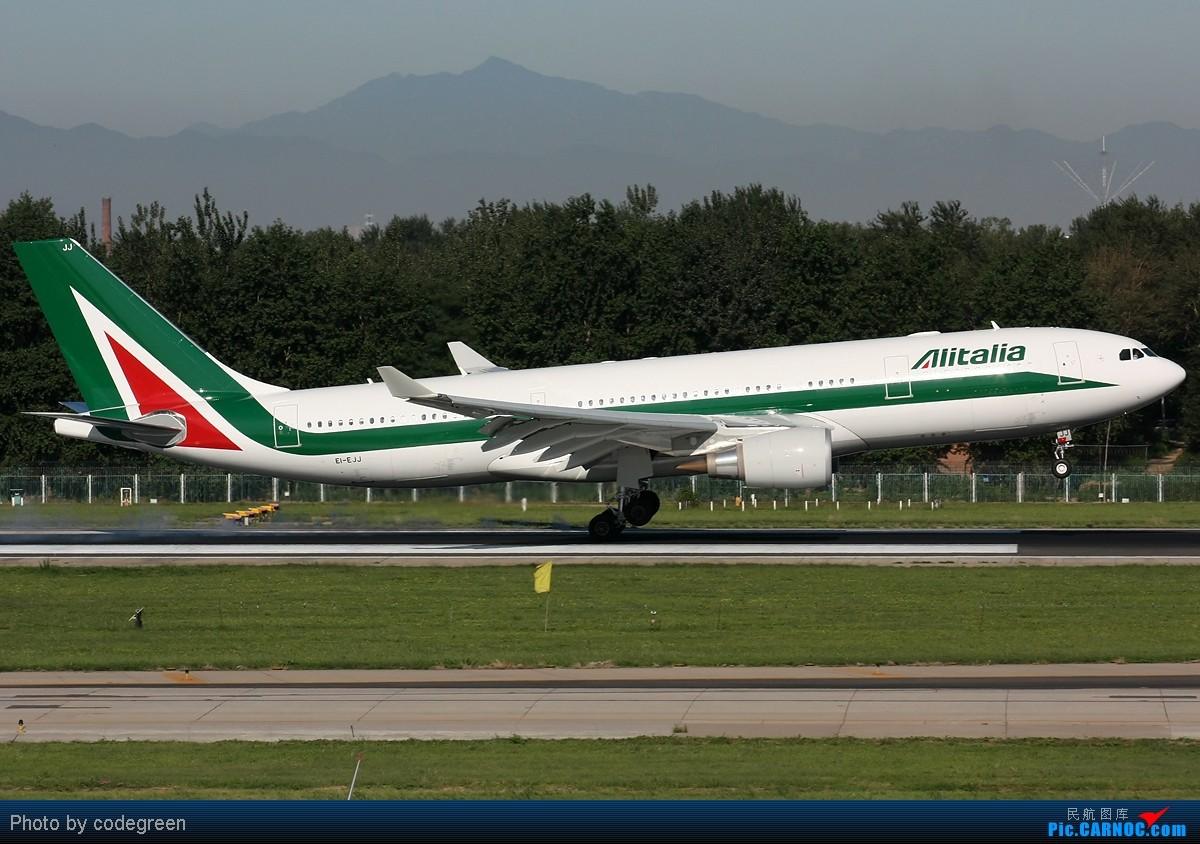 Re:西跑上的330们 -- 5个小时之内在PEK 36L跑道上的330 AIRBUS A330-200 EI-EJJ 中国北京首都机场