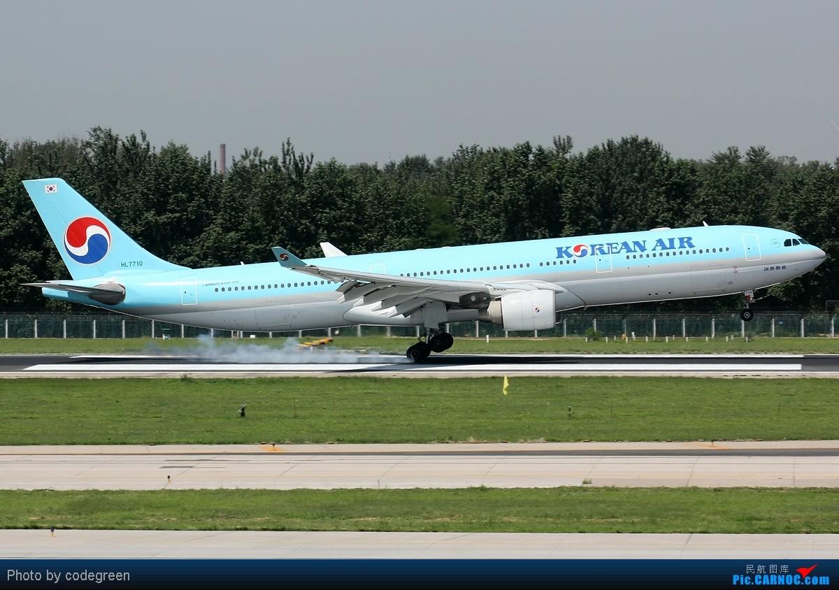 Re:[原创]西跑上的330们 -- 5个小时之内在PEK 36L跑道上的330 AIRBUS A330-300 HL7710 中国北京首都机场