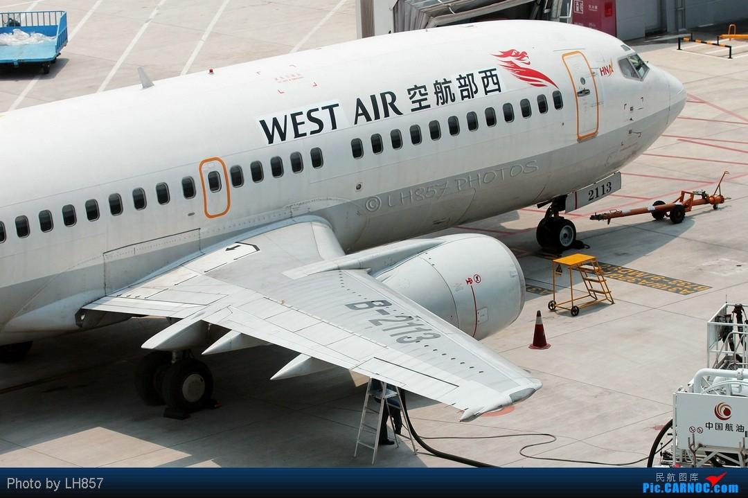 Re:[原创]7月重庆拍机帖,藏航319,长荣MD90~~多图杀猫,慎入(65P) BOEING 737 B-2113 中国重庆江北机场