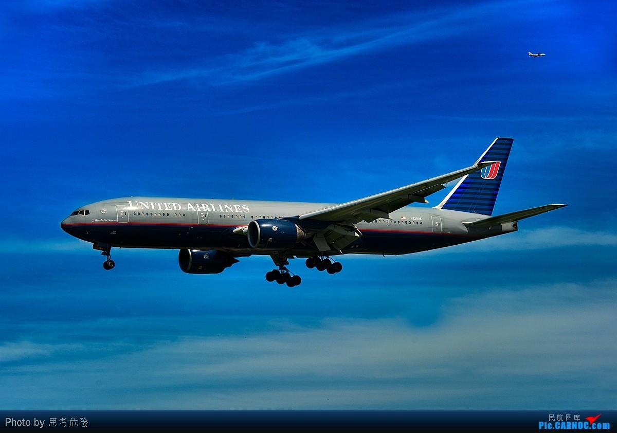 [原创]【思考危险】《云海遨游》——美联航BOEING B777 N-228UA BOEING 777 N-228UA 北京首都国际机场