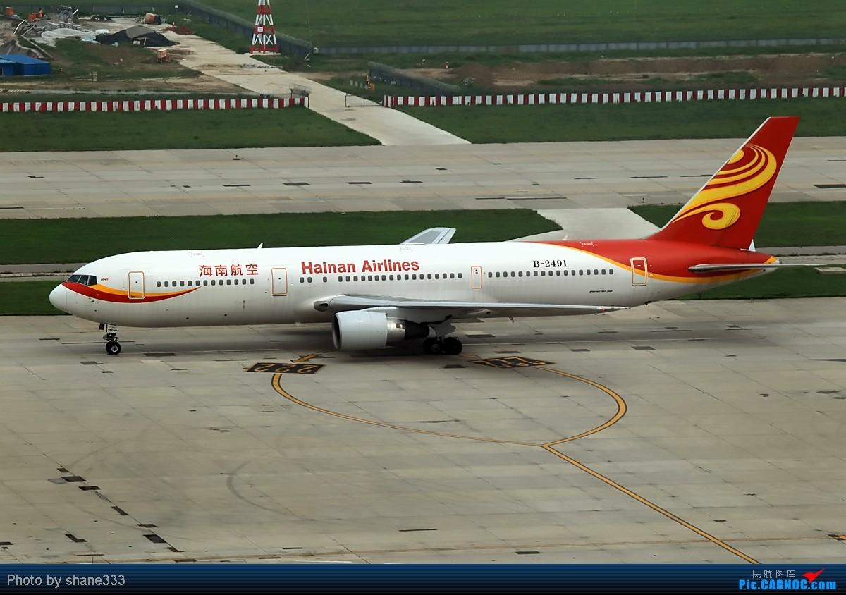 Re:[原创]【Shane拍机】整理整理,发一组767~~ BOEING 767-300 B-2491 中国北京首都机场