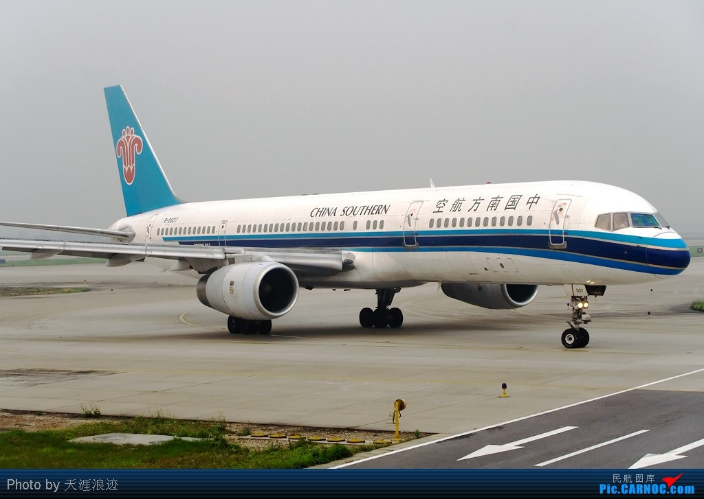 Re:[原创]【CASG】CAN7周岁纪念贴--一些有故事的老图 BOEING 757-200 B-2807 中国广州白云机场