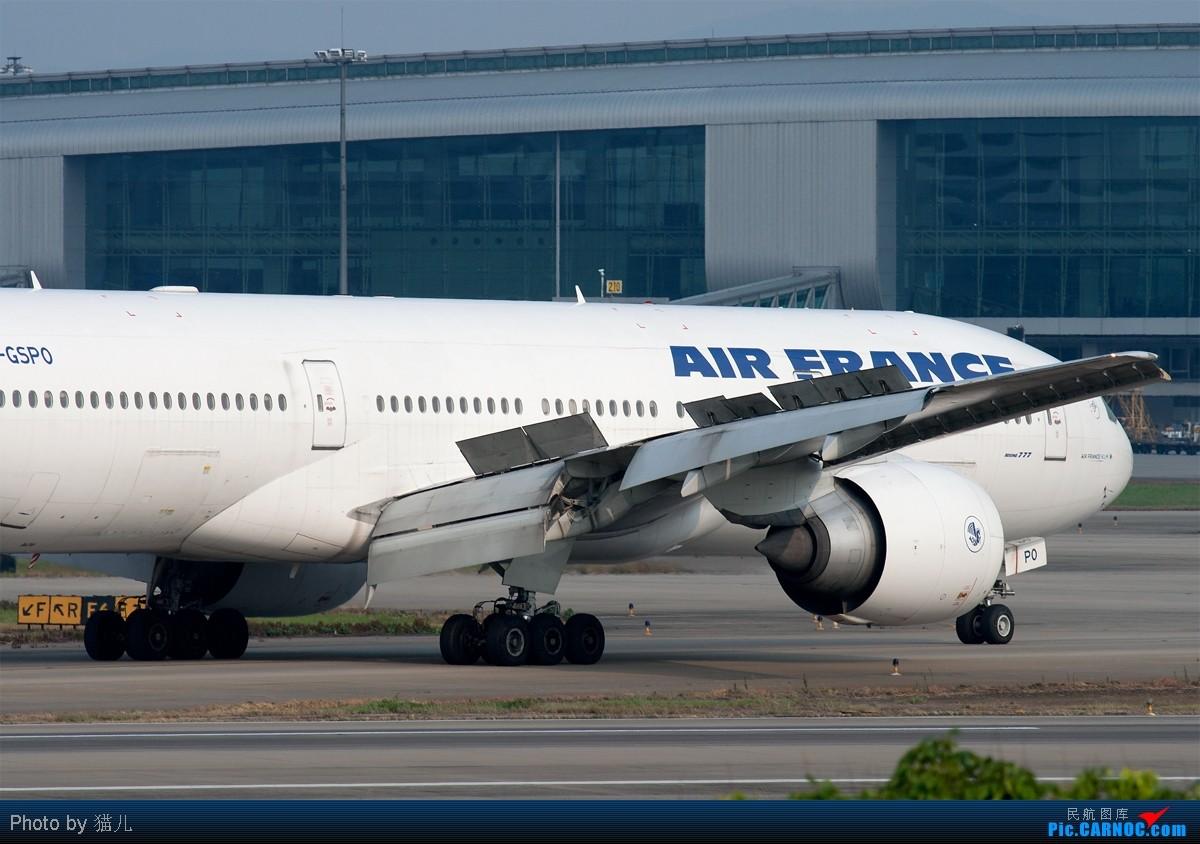 Re:[原创][CASG]发难得的好天图庆祝自己终于破了 BOEING 777-200 F-FSPO 中国广州白云机场