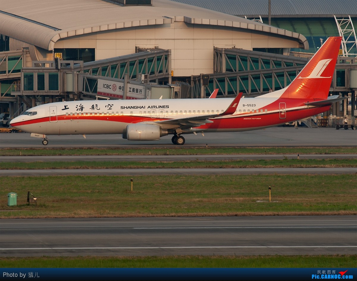 Re:[原创][CASG]发难得的好天图庆祝自己终于破了 BOEING 737-800 B-5523 中国广州白云机场