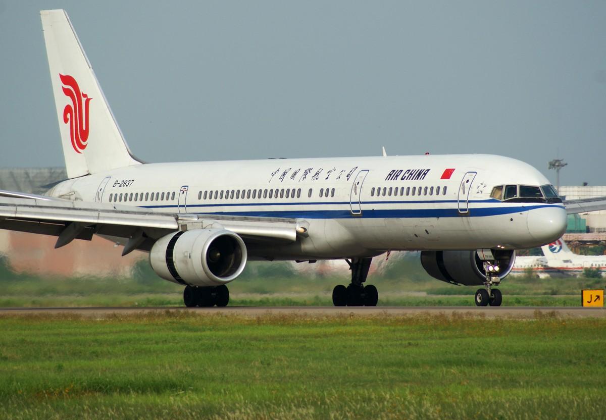[原创]J  Juliet BOEING 757-200 B-2837 中国南京禄口机场