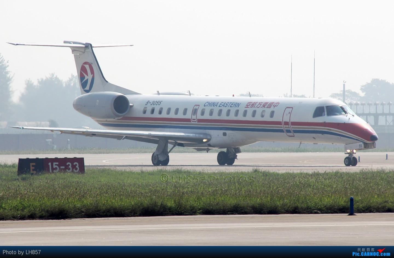 Re:[原创]8月再战石家庄,可惜国航海南都没来,只有思密达16P EMBRAER ERJ-145 B-3055 中国石家庄正定机场