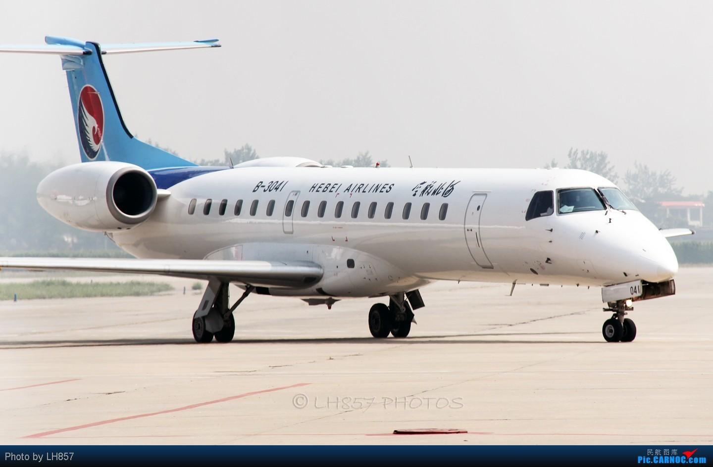 Re:[原创]8月再战石家庄,可惜国航海南都没来,只有思密达16P EMBRAER ERJ-145 B-3041 中国石家庄正定机场