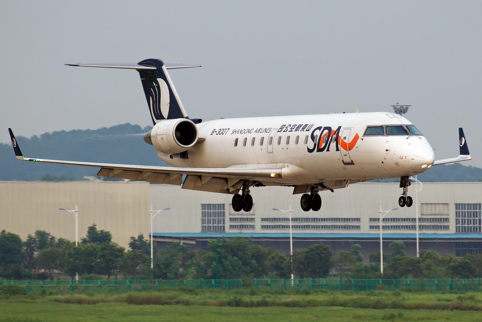 Re:[原创]【BLDDQ】******半个月了,始终没等来阳光,报报二毛一来那天的流水账吧****** BOMBARDIER (CANADAIR) CRJ-200 B-3007 中国南京禄口机场