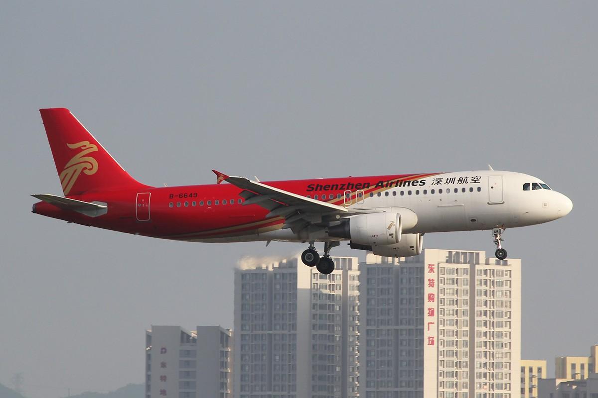 Re:[原创][DLC拍机]午后蹲守友谊桥,烂图15张,还请各位多指教! AIRBUS A320-200 B-6649 中国大连周水子机场
