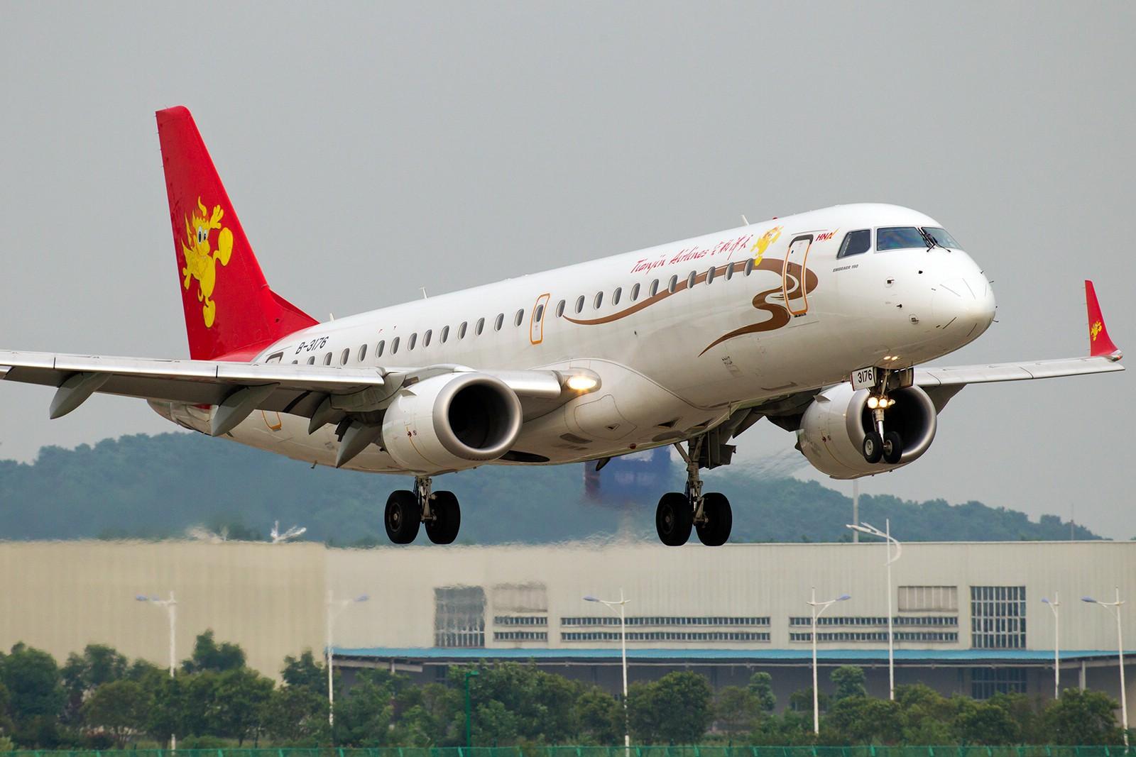 Re:[原创]【BLDDQ】******半个月了,始终没等来阳光,报报二毛一来那天的流水账吧****** EMBRAER ERJ-190 B-3176 中国南京禄口机场