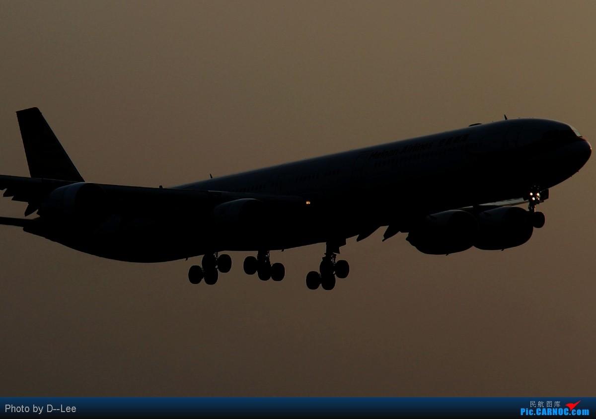 Re:[原创]【广州,你好】-许久没来,上来贴几个剪影,冒个泡 AIRBUS A340-600 B-6510 中国广州白云机场