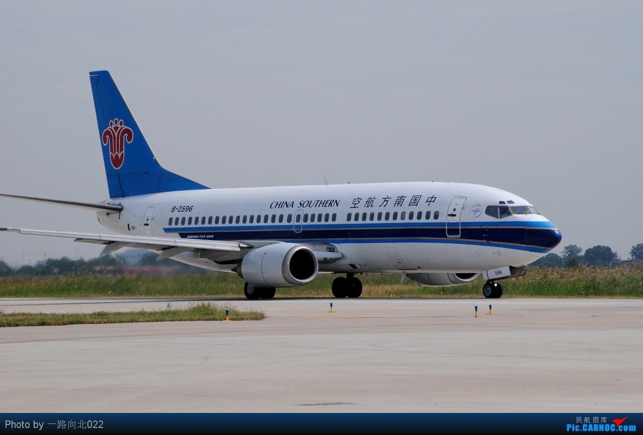 Re:[原创]**TSN**TSN**都去直博会了 坚守阵地 BOEING 737-300 B-2596 中国天津滨海机场