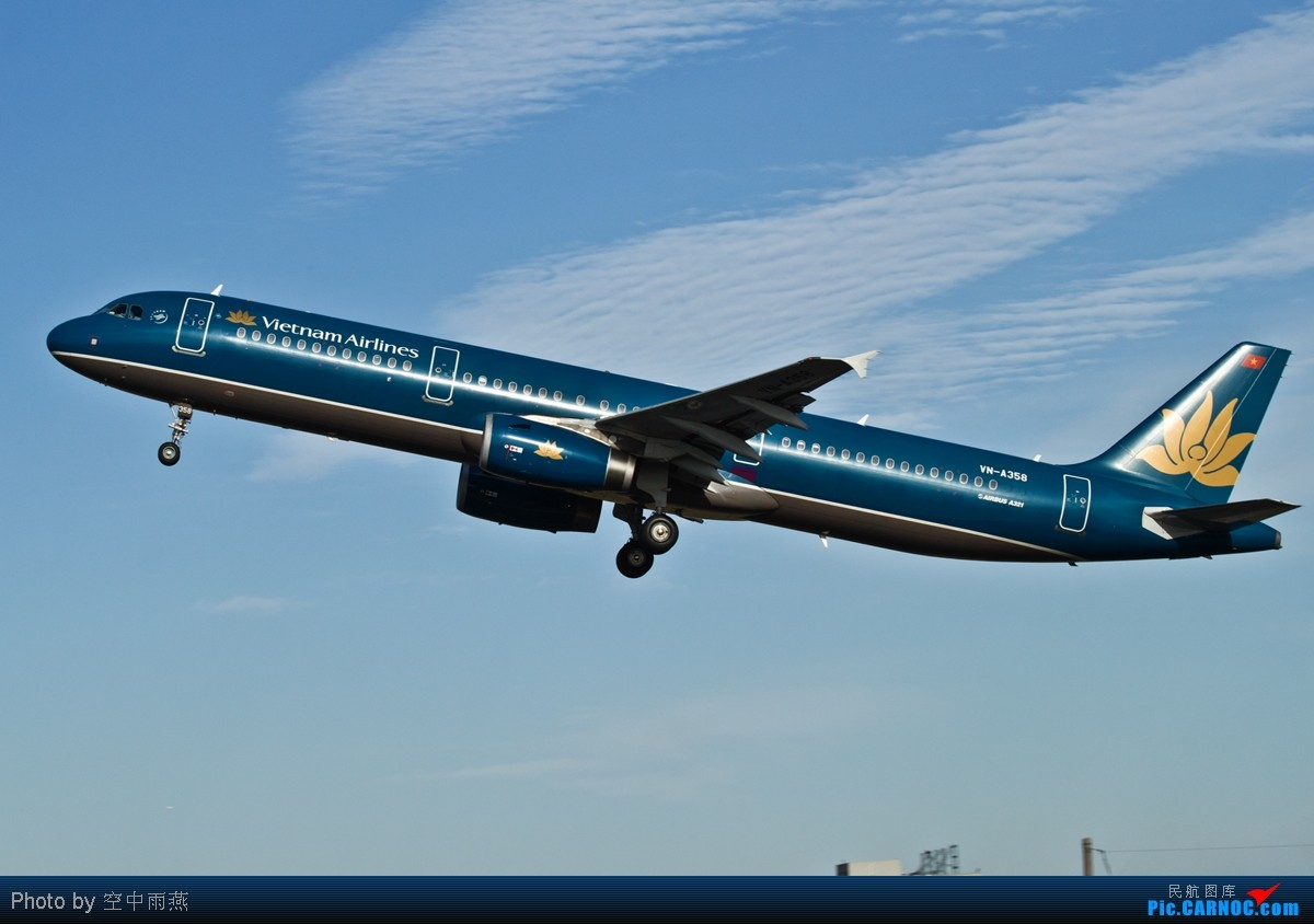 Re:[原创]PEK西跑几张起飞图 AIRBUS A321-231 VN-A358 中国北京首都机场