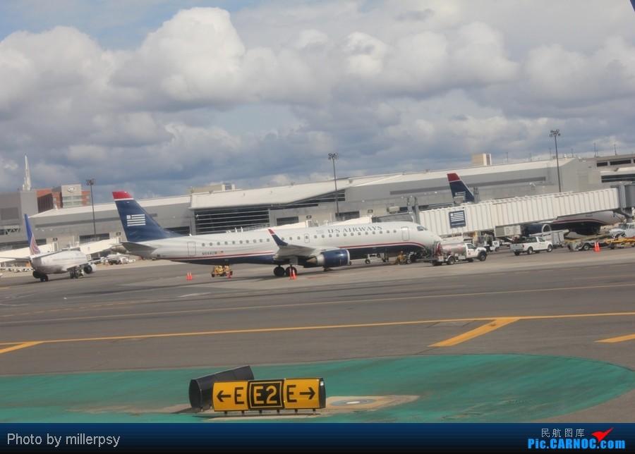 Re:[原创]超短途的飞行,从纽约到波士顿 ERJ-190 N944UW BOS