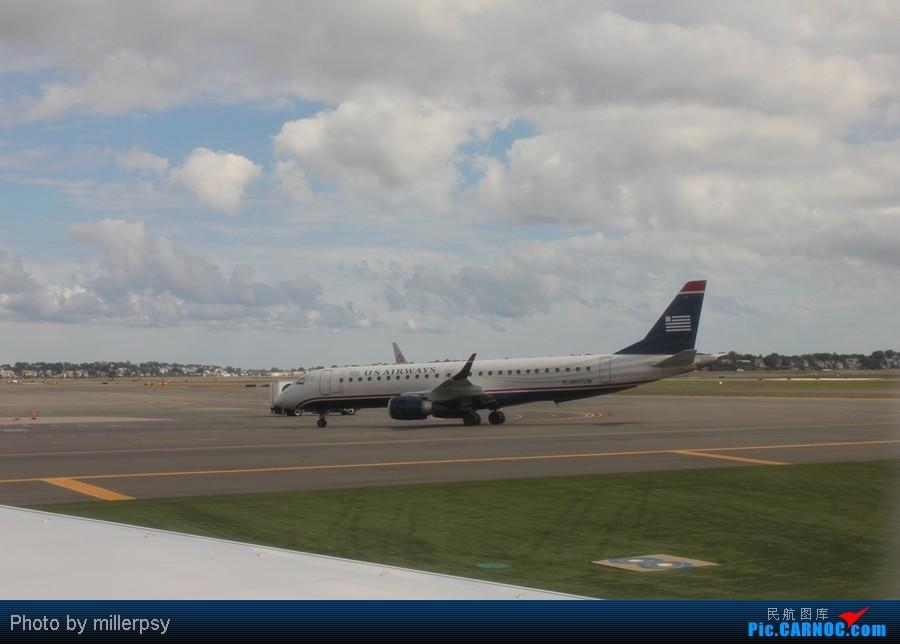 Re:[原创]超短途的飞行,从纽约到波士顿 ERJ-190 N947UW BOS