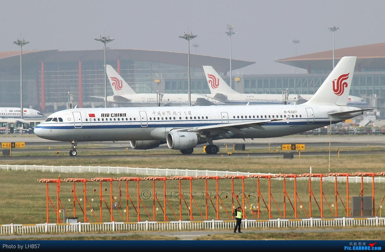 Re:[原创]战斗在PEK,追梦者,EK380,还有不知名的BBJ AIRBUS A321-200 B-6327 中国北京首都机场