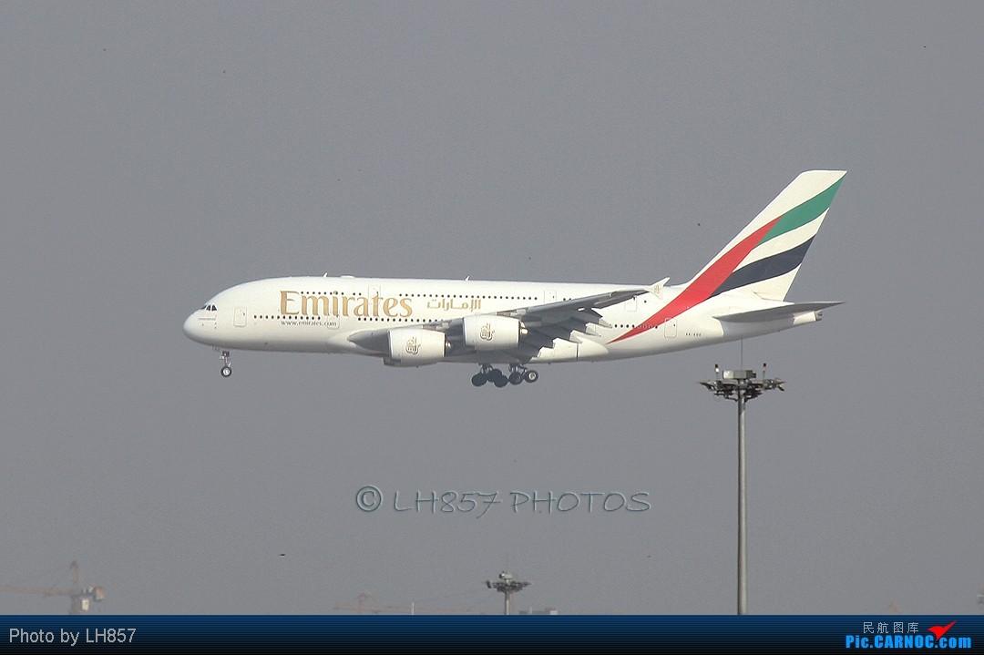 Re:[原创]战斗在PEK,追梦者,EK380,还有不知名的BBJ AIRBUS A380  中国北京首都机场