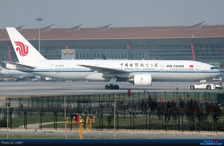 Re:[原创]战斗在PEK,追梦者,EK380,还有不知名的BBJ BOEING 777-200 B-2064 中国北京首都机场