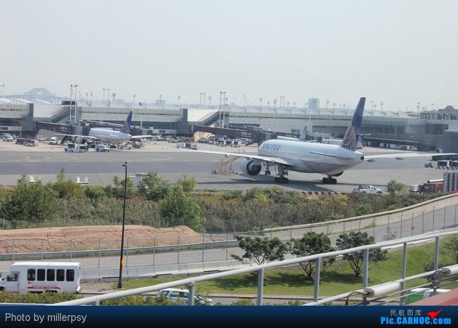 Re:[原创]超短途的飞行,从纽约到波士顿 BOEING 777-200ER N27015 美国纽瓦克机场