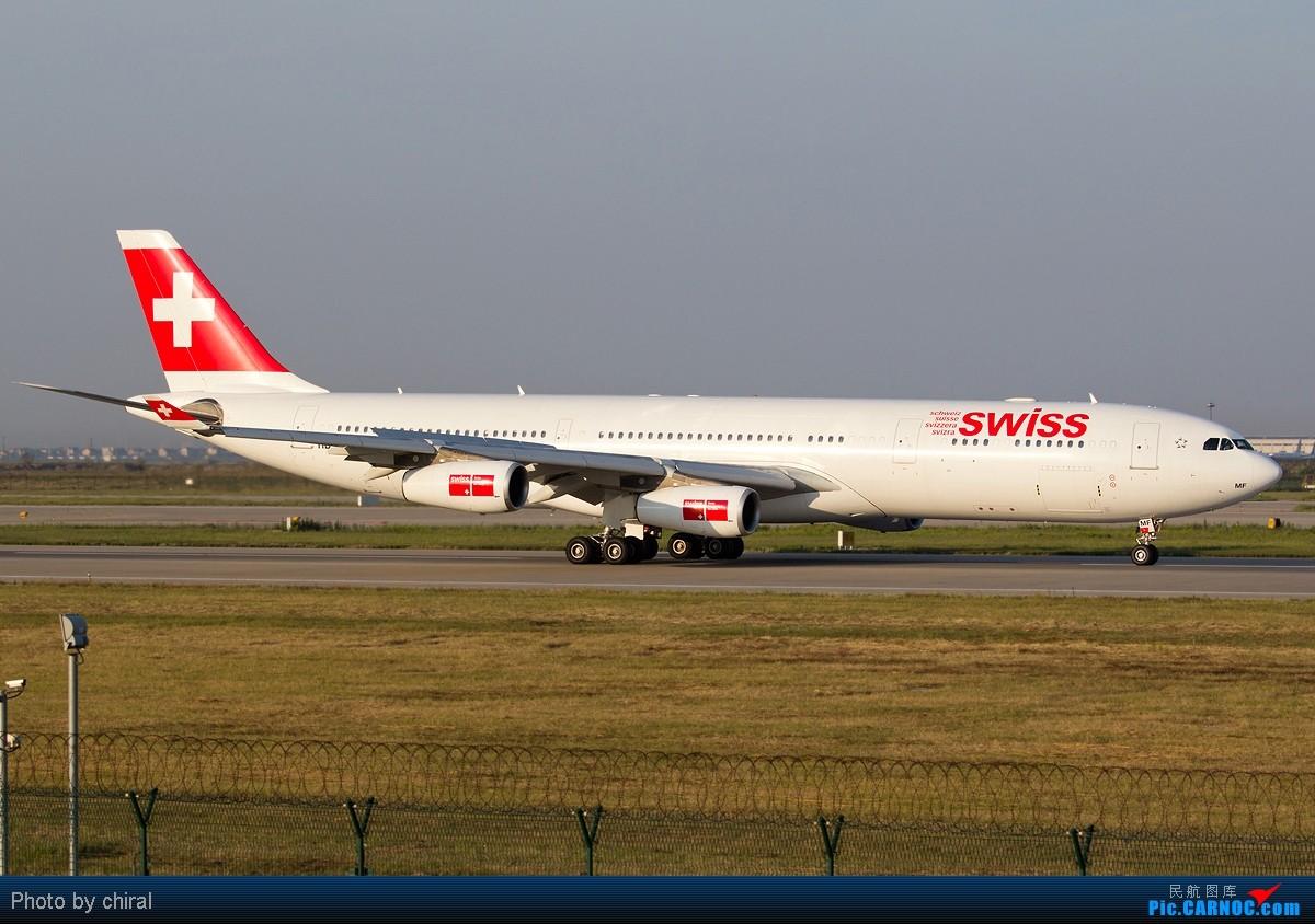 Re:[原创]【Chiral】为了那能照清楚每只轮轱辘的阳光,梦幻的黄金一小时@周末清晨的PVG AIRBUS A340-313X HM-JMF 中国上海浦东机场