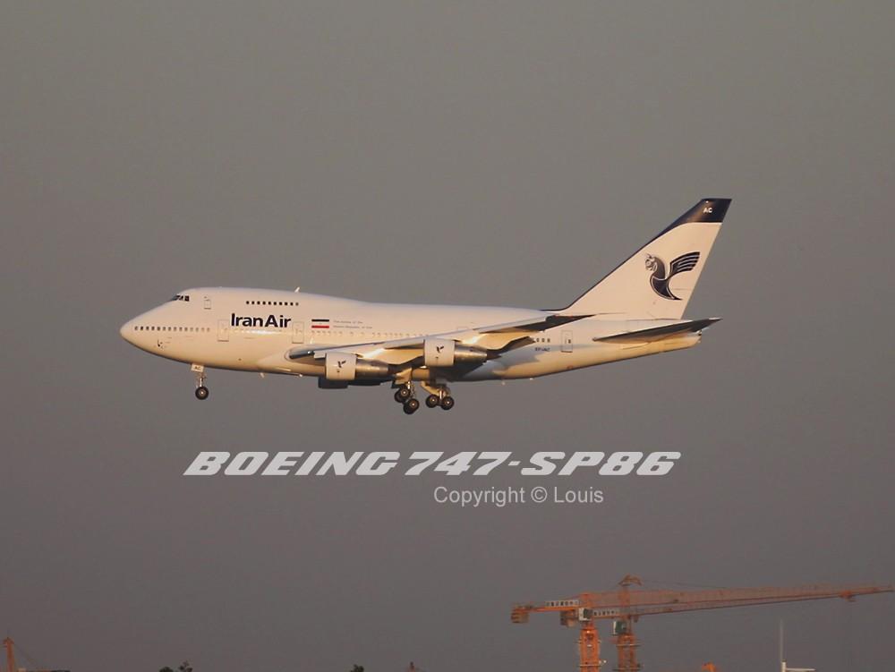 Re:八卦台上秀人品,与与飞结缘共同战斗的一下午 BOEING 747-SP EP-IAC 中国北京首都机场
