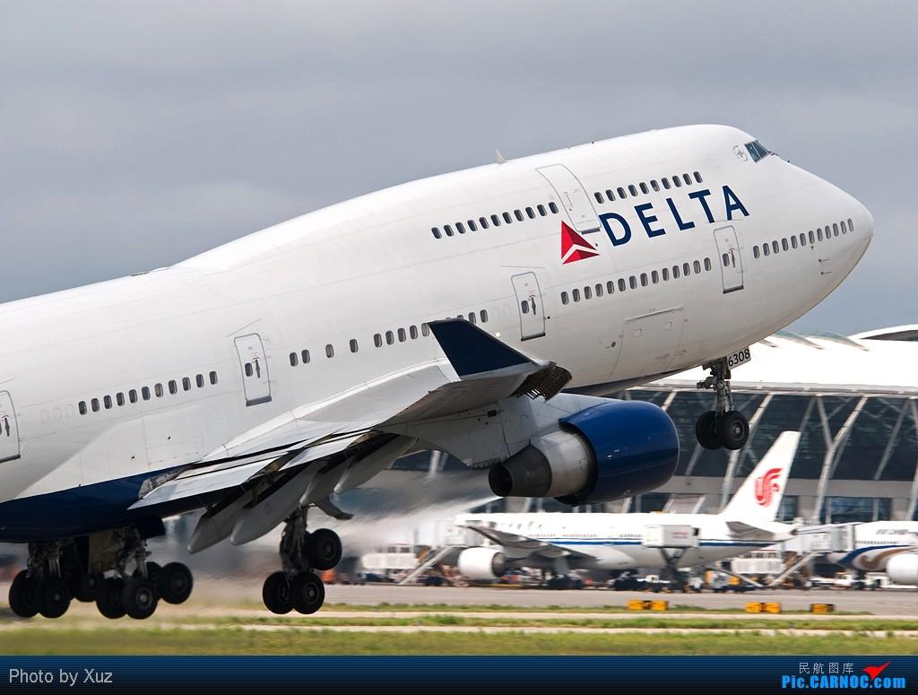 Re:[原创]PVG,PVG,还是PVG BOEING 747-400 N668US 中国上海浦东机场