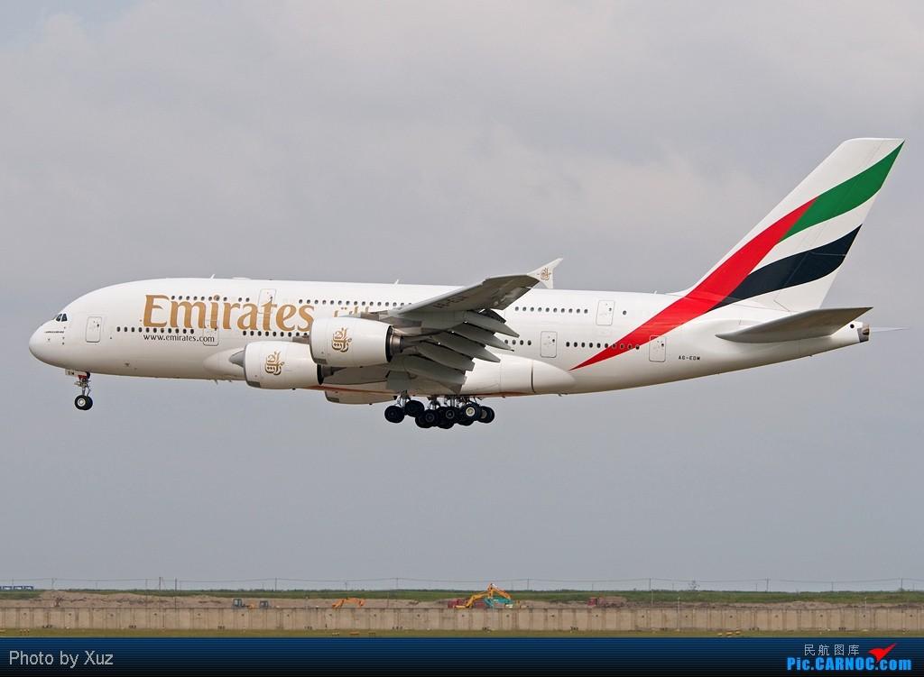 Re:[原创]PVG,PVG,还是PVG AIRBUS A380 A6-EDM 中国上海浦东机场